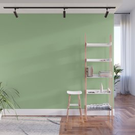 Nile Green | Pantone Fashion Color Spring : Summer 2018 | London Solid Color Wall Mural