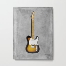 The 58 Telecaster Metal Print