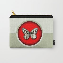 Fruit of the Spirit, Patience (Red & Ecru) Carry-All Pouch