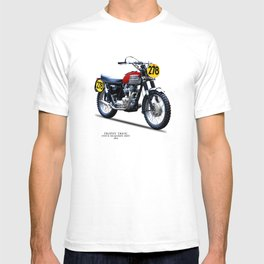 The Steve McQueen ISDT Motorcycle 1964 T-shirt