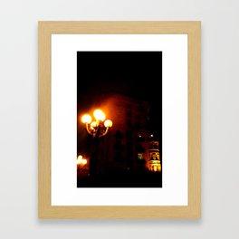 Night Crest 3 Framed Art Print