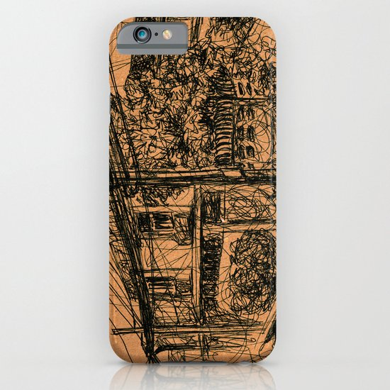 Power Lines iPhone & iPod Case