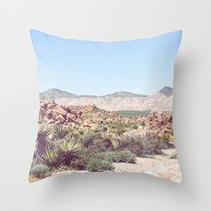 Joshua Tree, No. 2 Throw Pillow
