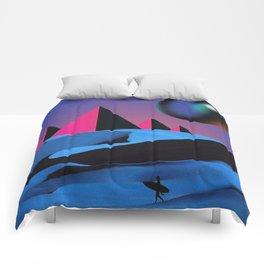Blue Desert Comforters