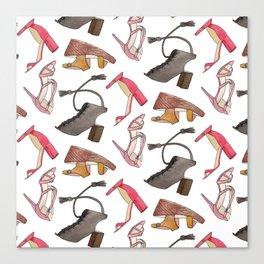 Sandal Pattern Canvas Print