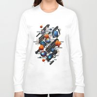 geo Long Sleeve T-shirts featuring Geo by Tomas Brechler