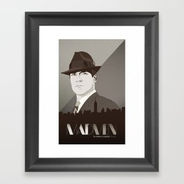 The Mad Framed Art Print