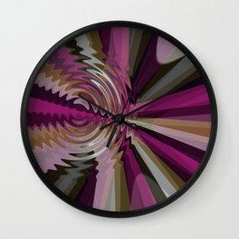 Rays Interrupted Wall Clock