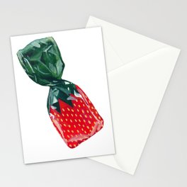 Strawberry BonBon Stationery Cards