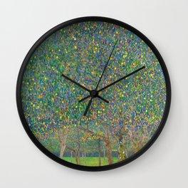 "Gustav Klimt ""Pear tree"" Wall Clock"