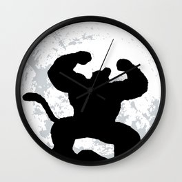 Night Monkey Wall Clock