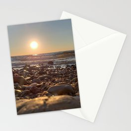 Majestic Beach Sunset Stationery Cards