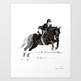 Horse (Jumper II) Art Print