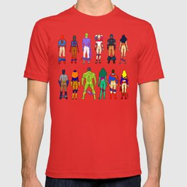 Superhero Butts - Power Couple T-shirt