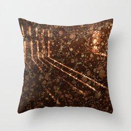 Vintage Lockhouse Revival Throw Pillow