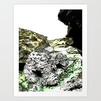 Entity Art Print