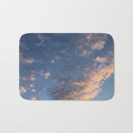 streaking cloud Bath Mat