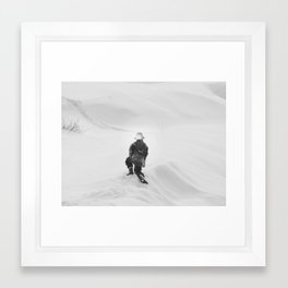 NOWHERE TO GO Framed Art Print