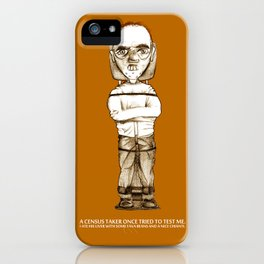 Lecter iPhone Case