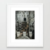 industrial Framed Art Prints featuring Industrial  by Novella Photography