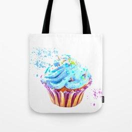 Cupcake watercolor illustration Tote Bag