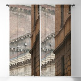 Street View of the Pantheon of Rome Blackout Curtain