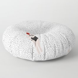 Swimming points Floor Pillow