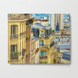 A View from Montmartre Metal Print