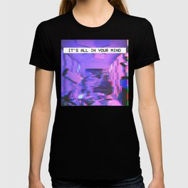 Vaporwave Aesthetic Style Emotional Dream Gift for sad boys and girls T-shirt