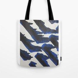 Blue Print Tote Bag