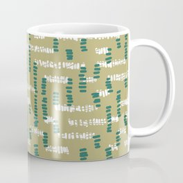 Tribal Maze Coffee Mug