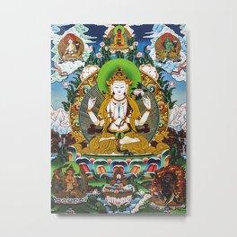 Avalokitesvara Metal Print