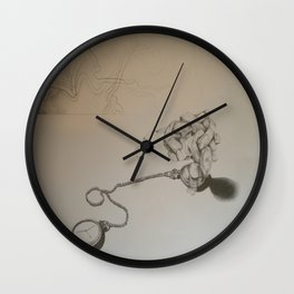 Time heals all wounds Wall Clock