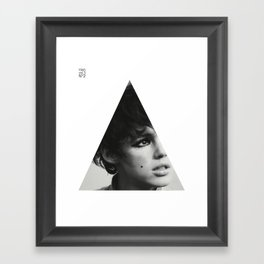 It's not that I'm rebelling, just trying to find another way Framed Art Print