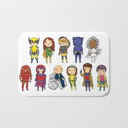 Super Cute Heroes: X-Men Bath Mat