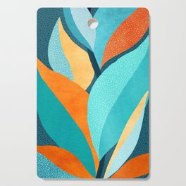 Abstract Tropical Foliage Cutting Board