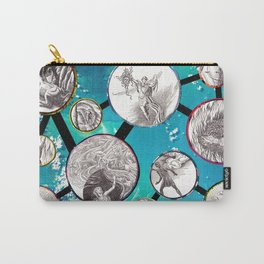 Mythical Molecules Carry-All Pouch