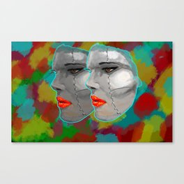 Miss BIOS Canvas Print