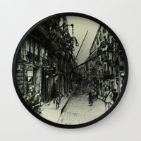 barcelona Wall Clocks featuring Barcelona by Lamb
