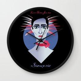 Siouxsie Wall Clock
