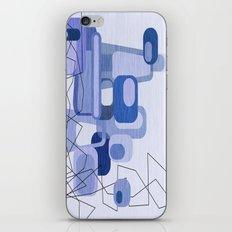 Feeling Blue. iPhone & iPod Skin