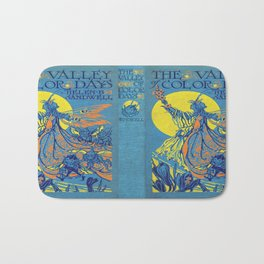 The Valley of Color Days Book Bath Mat