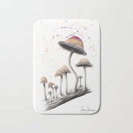 Mushroom Dance Bath Mat