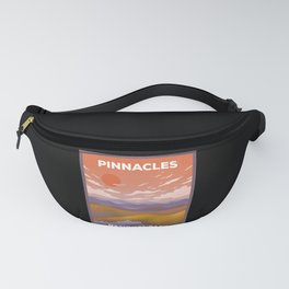 Pinnacles National Park - Retro Sunset Fanny Pack