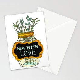 Heal With Love Stationery Cards