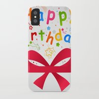 birthday iPhone & iPod Cases featuring Birthday by aleksander1