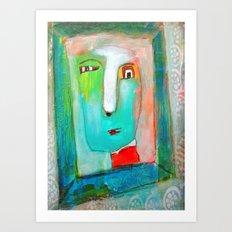 The Passerby Art Print