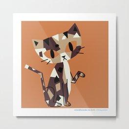 #30daysofcats 25/30 Metal Print