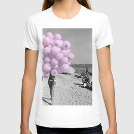 Balloon Beach Pink T-shirt