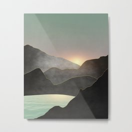 Minimal Landscape 03 Metal Print